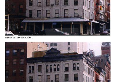 Greenwich Street East view- Bergen Street Studio, Brooklyn, NY