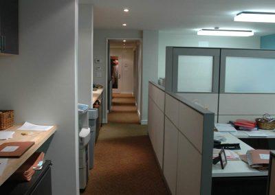 Brickner Makow LLP Office Hallway View- Bergen Street Studio, Brooklyn, NY