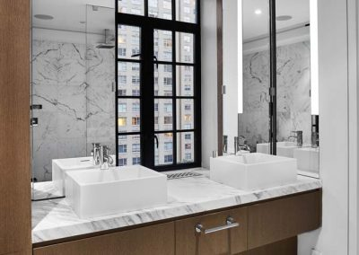 East 57 Street Bathroom -Residence by Bergen Street Studio