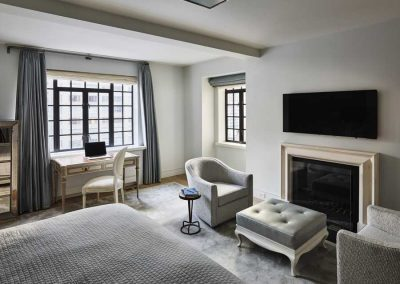 East 57 Street Bedroom -Residence by Bergen Street Studio