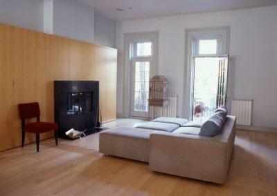 Pacific Street Townhouse by Bergen Street Studio, Brooklyn, NY - Livingroom