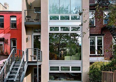 Brickner Makow LLP Back View - Bergen Street Studio, Brooklyn, NY