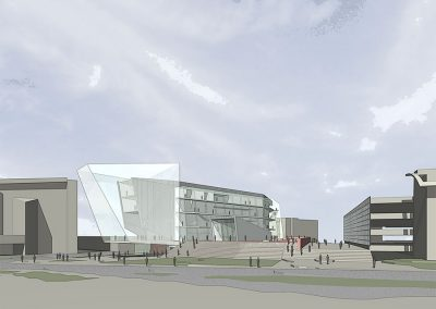 Myers School of Art _ University of Akron by Bergen St. Studio, architecture firm in Brooklyn, NY.