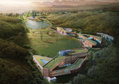 National Ecological Center by Bergen St. Studio, architecture firm in Brooklyn, NY.