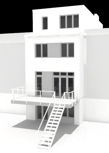 third street townhouse - bergen street studio- brooklyn, ny